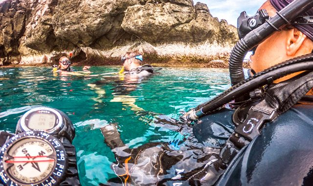 padi adventure diver course Koh Phangan