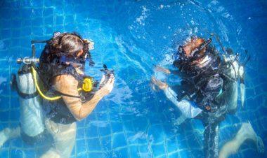 padi discover scuba diving koh phangan