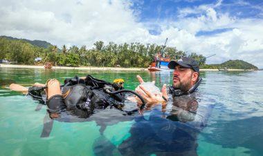 padi rescue diver course Koh Phangan