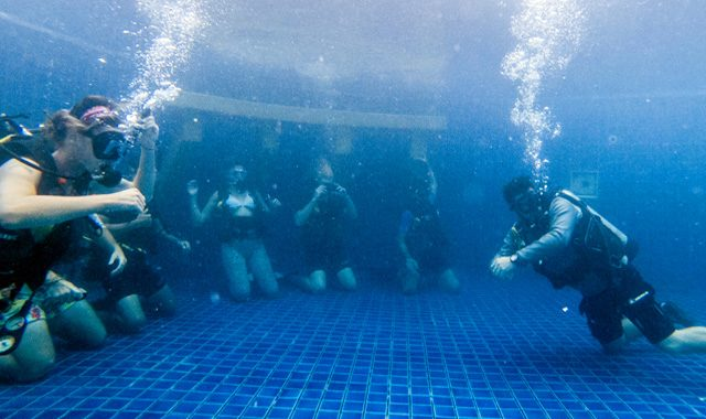 PADI Master Scuba Diver Trainer Course Koh Phangan