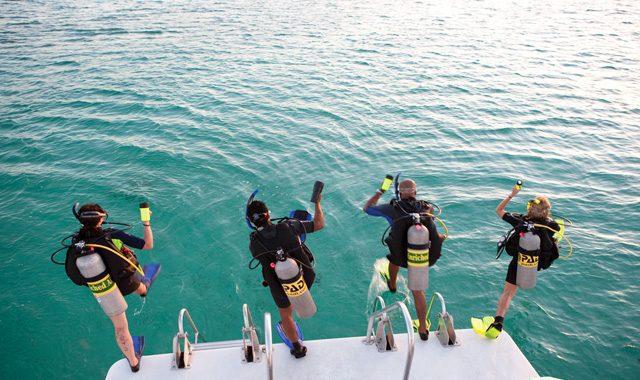 padi enriched air diver course koh phangan