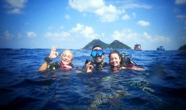 fun diving trips koh tao
